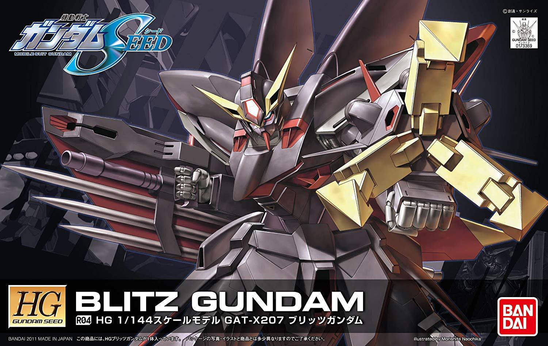 HG 1/144 R04 GAT-X207 ブリッツガンダム [Blitz Gundam] パッケージアート