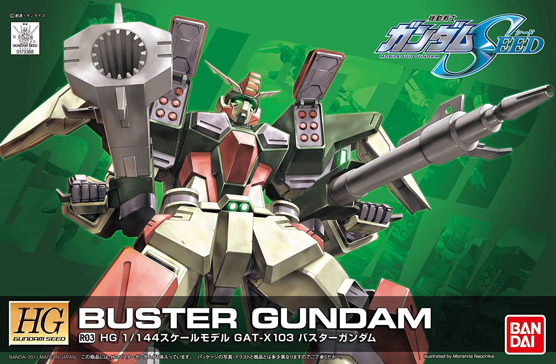 HG 1/144 R03 GAT-X103 バスターガンダム [Buster Gundam]