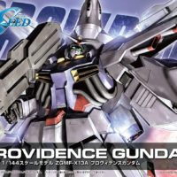HG 1/144 R13 ZGMF-X13A プロヴィデンスガンダム [Providence Gundam] パッケージ