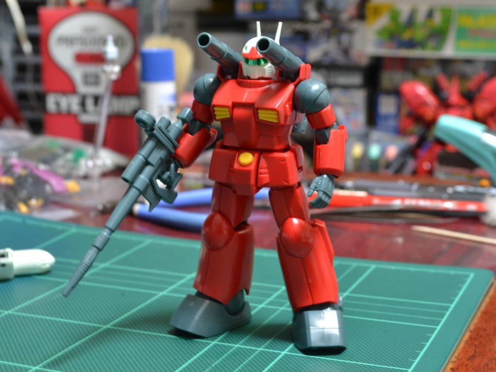 HGUC 001 1/144 RX-77-2 ガンキャノン [Guncannon] 正面