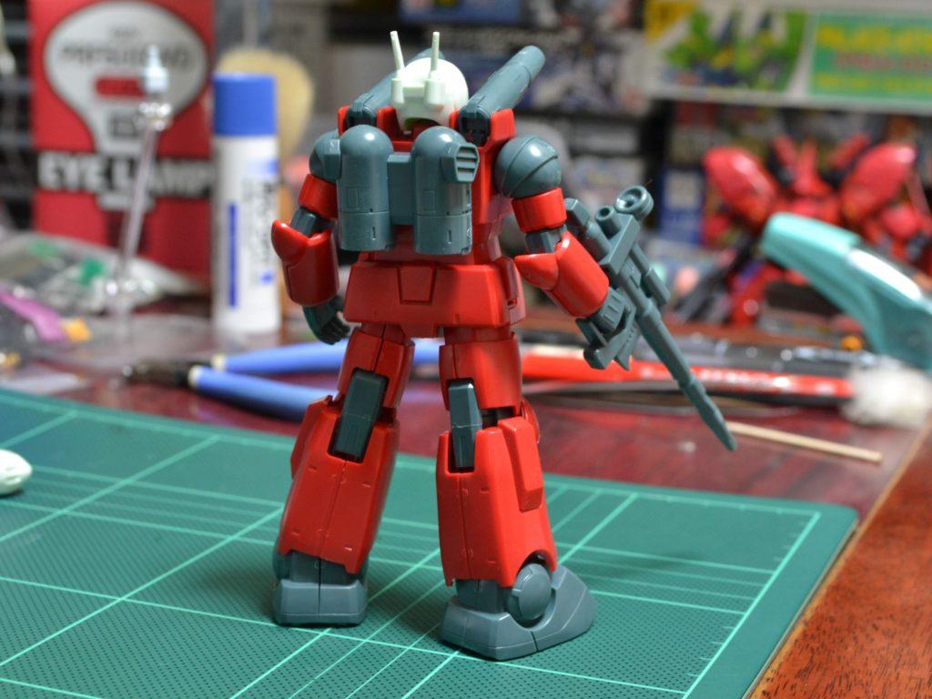 HGUC 001 1/144 RX-77-2 ガンキャノン [Guncannon] 背面