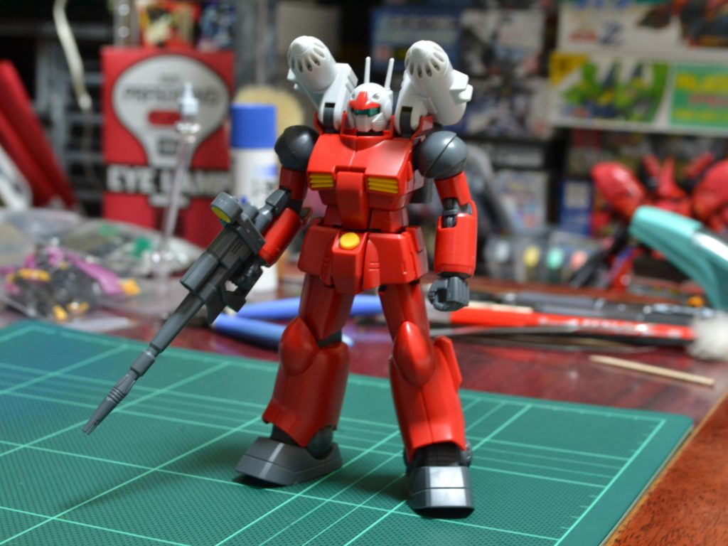 RX-77-2 ガンキャノン(SML装備)[Guncannon Spray Missile Launcher Type] 正面