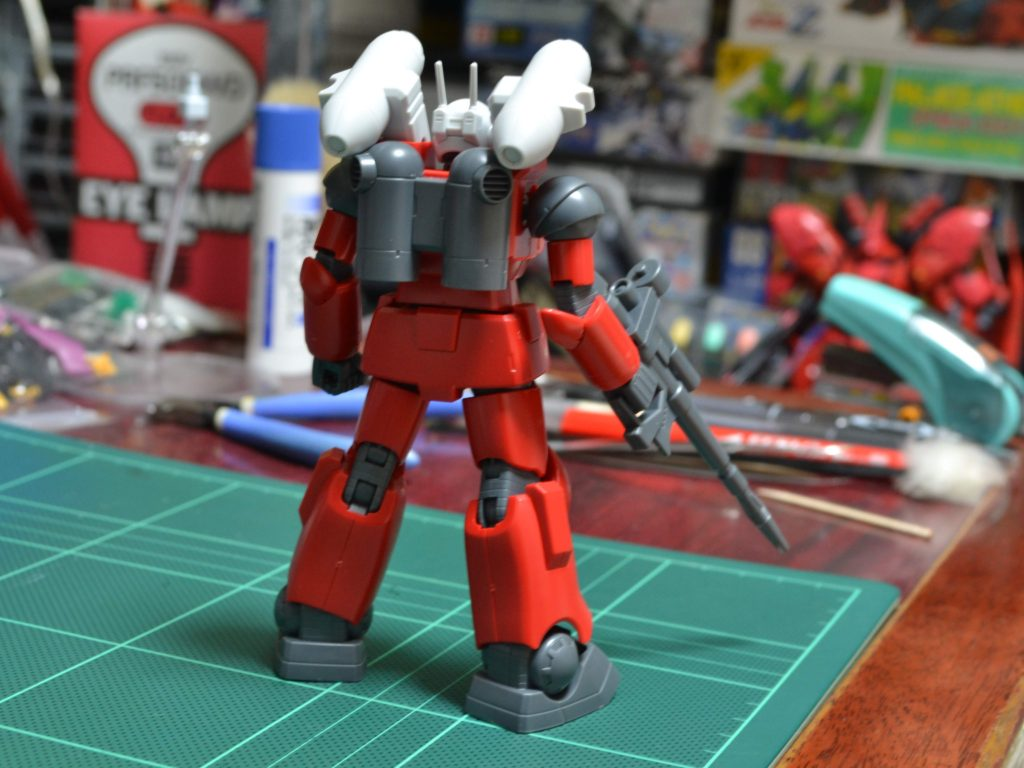 RX-77-2 ガンキャノン(SML装備)[Guncannon Spray Missile Launcher Type] 背面