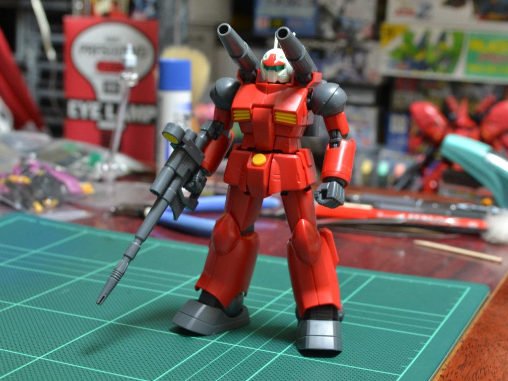 HGUC 190 1/144 REVIVE RX-77-2 ガンキャノン 正面