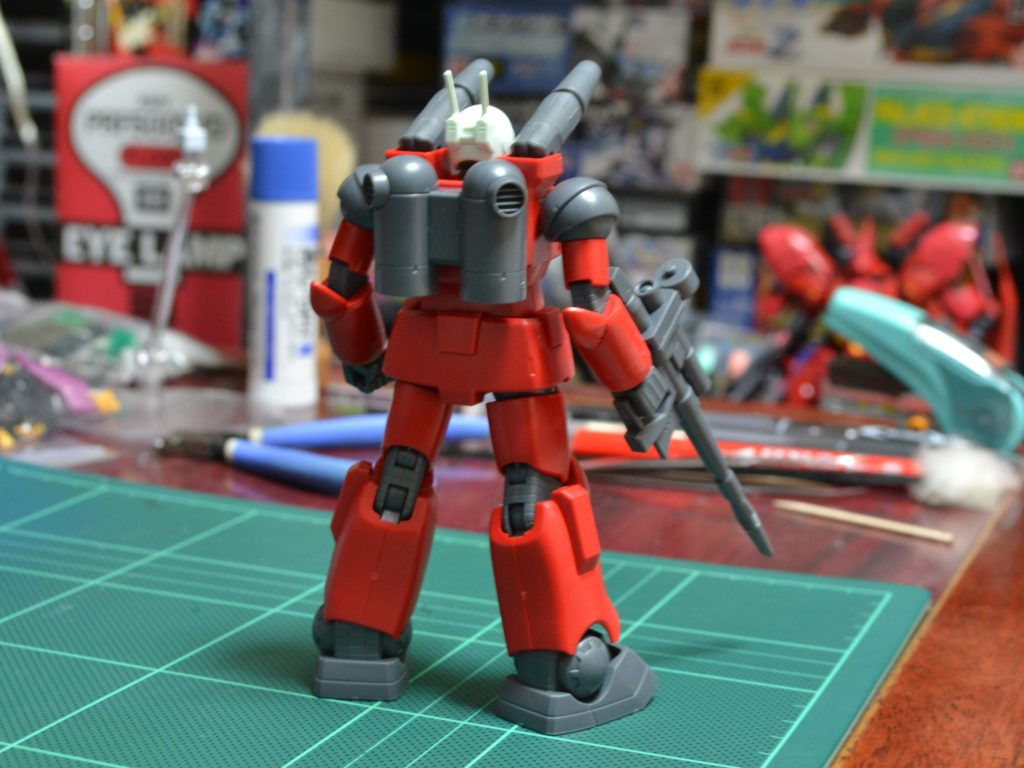 HGUC 190 1/144 REVIVE RX-77-2 ガンキャノン 背面