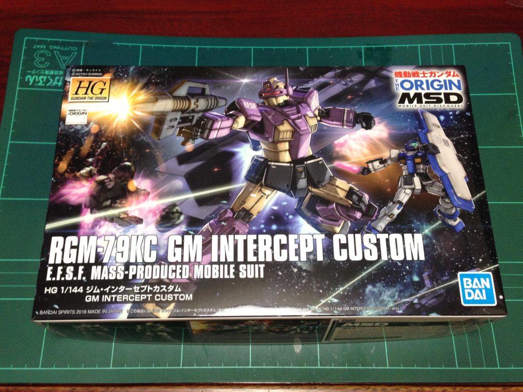 HG 1/144 RGM-79KC ジム・インターセプトカスタム [GM Interceptor Custom] パッケージ