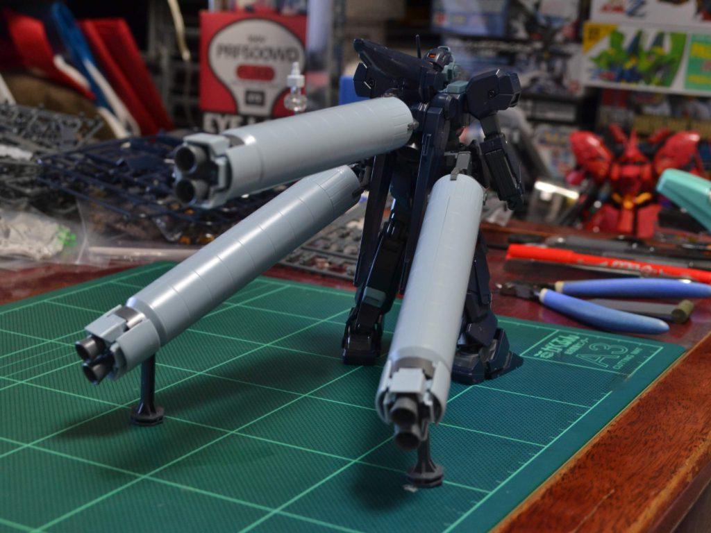 HGUC 1/144 ジェスタ (シェザール隊仕様 A班装備) 背面