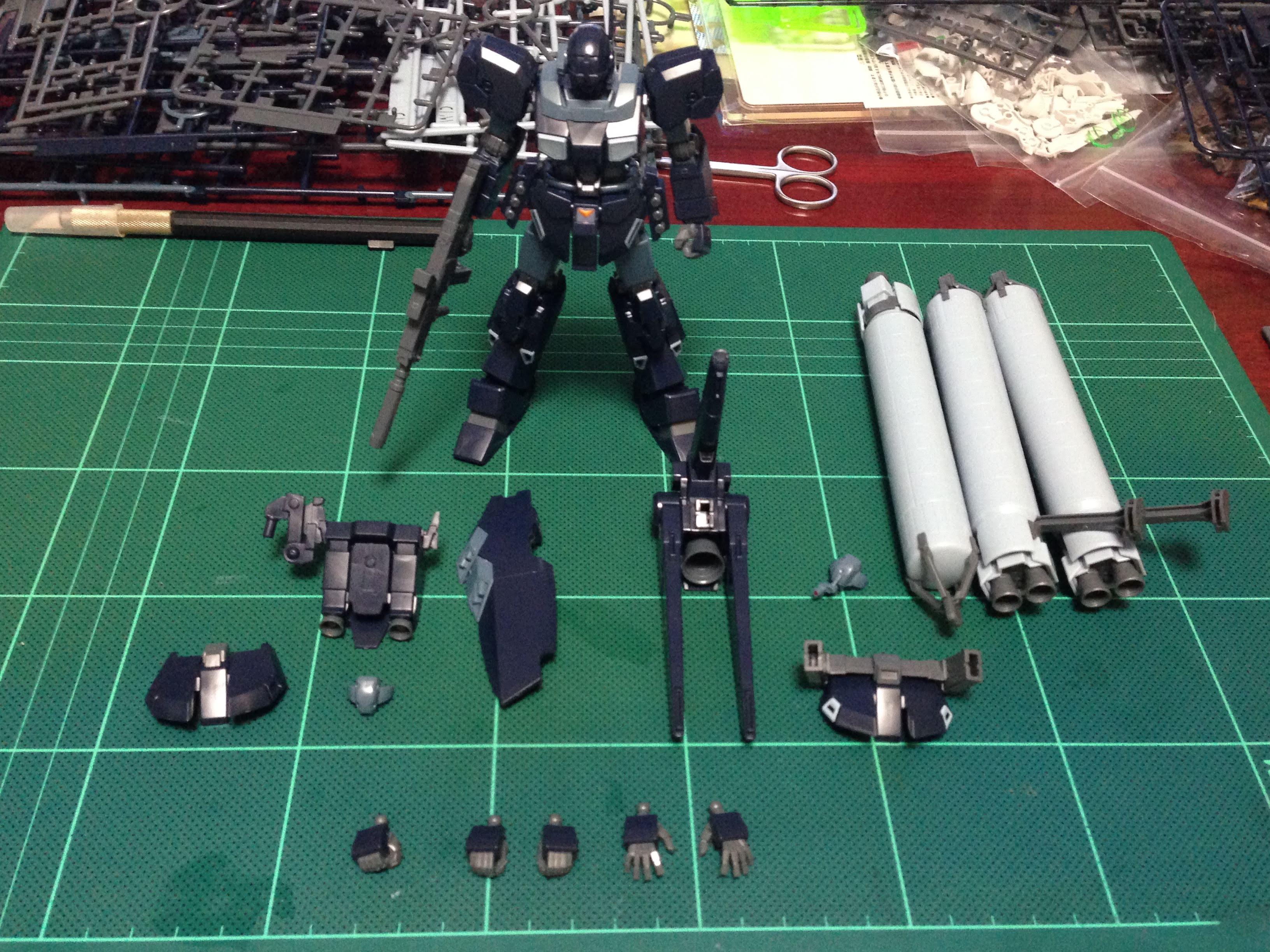 HGUC 1/144 ジェスタ (シェザール隊仕様 A班装備)