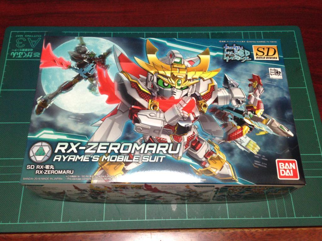 SDBD RX-零丸(アールエックスぜろまる) パッケージ