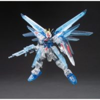 HG 1/144 ZGMF-X10A フリーダムガンダム プラフスキーパーティクルクリアVer. [Freedom Gundam Particle Clear Ver.] 公式画像1