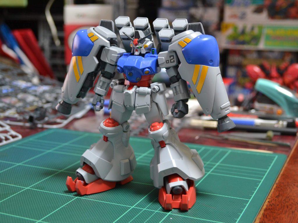 HGUC 1/144 RX-78GP02A ガンダムGP02A(MLRS仕様)サイサリス [Gundam GP02A (Type-MLRS)] 正面