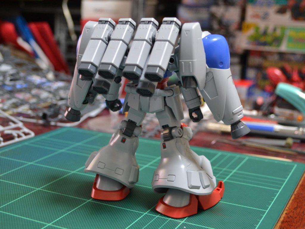 HGUC 1/144 RX-78GP02A ガンダムGP02A(MLRS仕様)サイサリス [Gundam GP02A (Type-MLRS)] 背面
