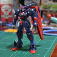 HGFC 1/144 GF13-001NHII マスターガンダム&風雲再起 [Master Gundam & Fuunsaiki]