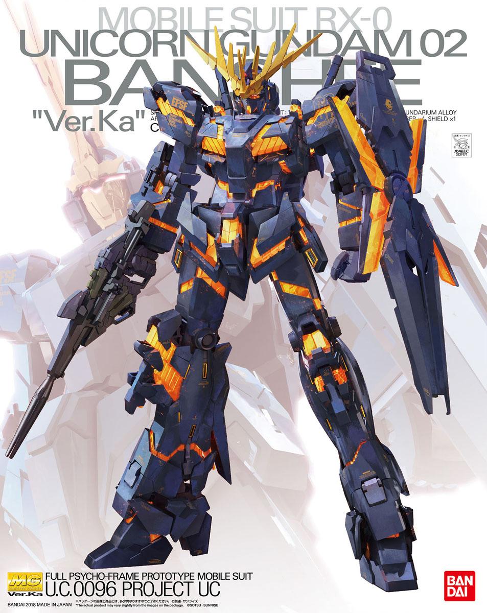 MG 202 1/100 RX-0 ユニコーンガンダム2号機 バンシィ Ver.Ka [Unicorn Gundam 02 Banshee] 5061593 4573102615930 0227474 4549660274742
