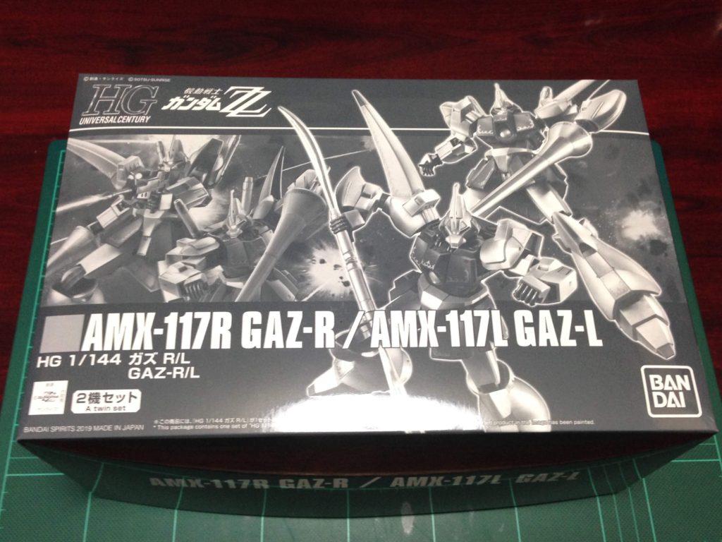 HGUC 1/144 AMX-117R/L ガズ R/L (ガズエル/ガズアル) パッケージ