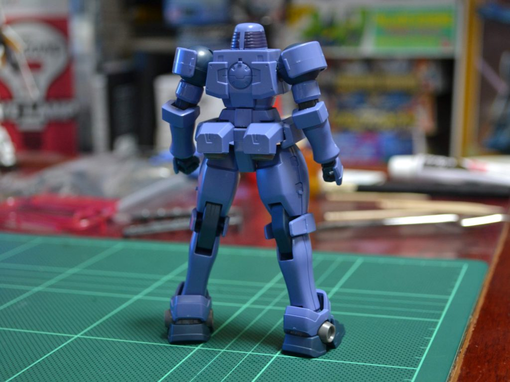 OZ-06MS リーオー[OZ財団所属機] [Leo Space Type OZ Custom] 背面