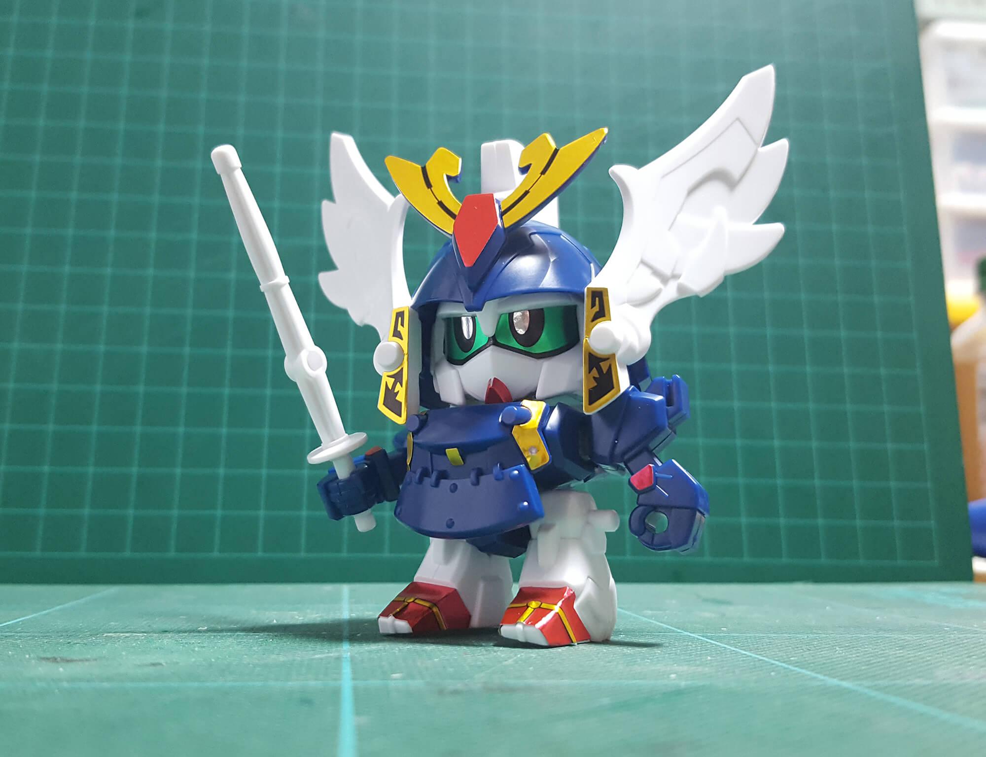 SDガンダム BB戦士 270 少年剣士嵐丸