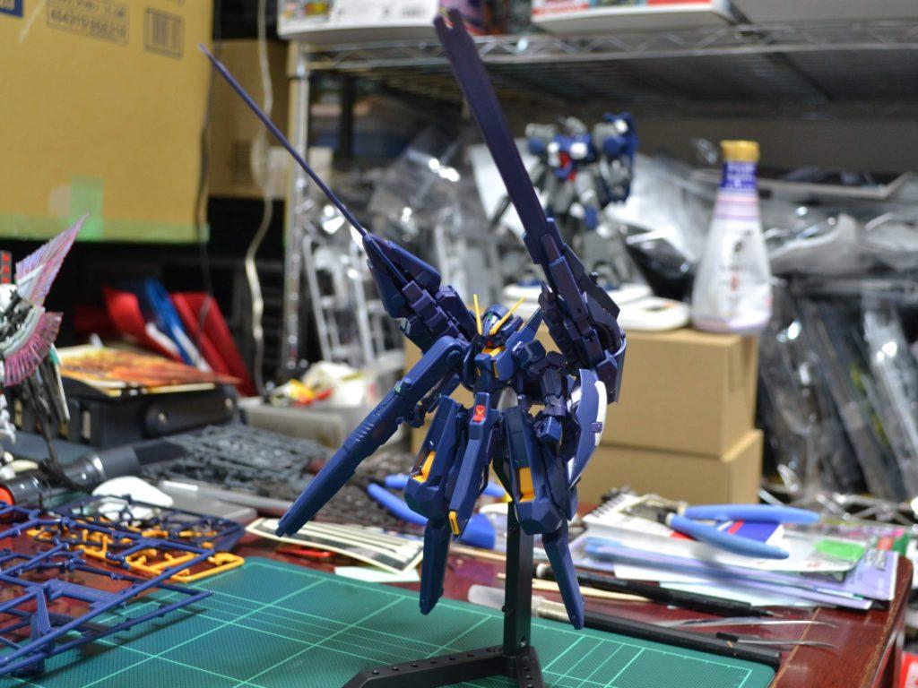 RX-124 ガンダムTR-6〈ヘイズルII〉 [Gundam TR-6 (Hazel II)] 正面