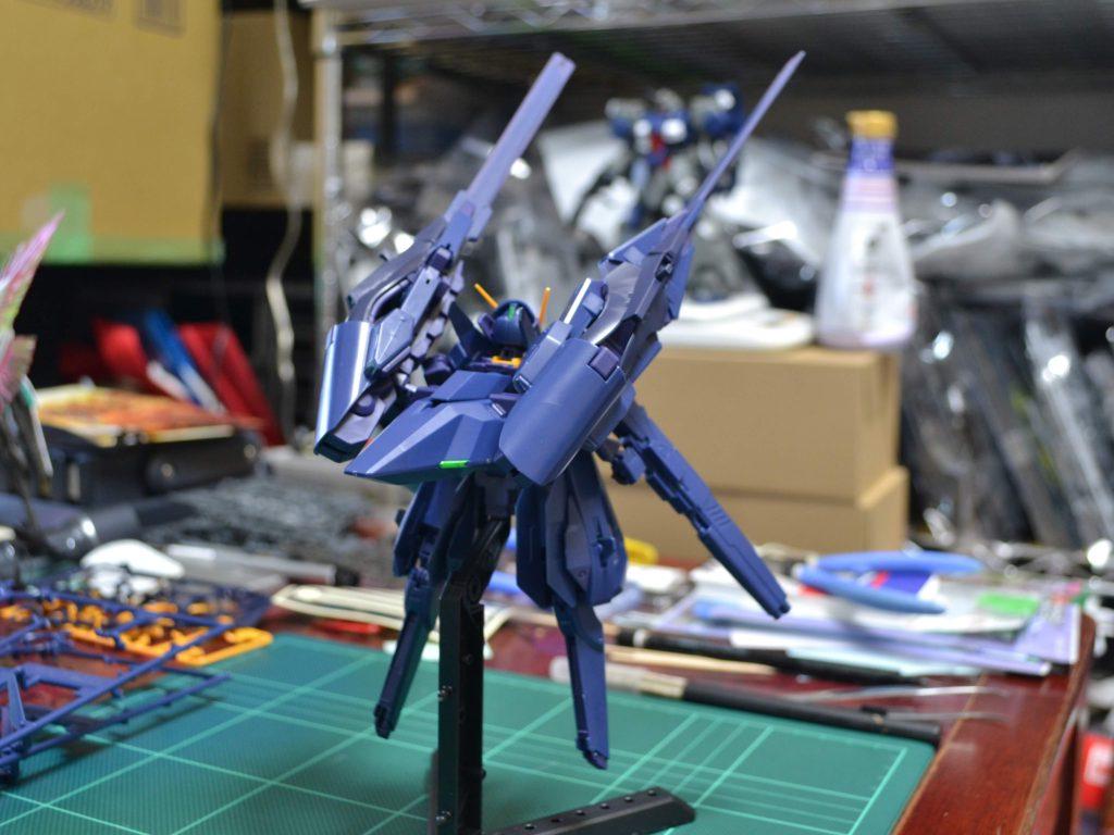 RX-124 ガンダムTR-6〈ヘイズルII〉 [Gundam TR-6 (Hazel II)] 背面