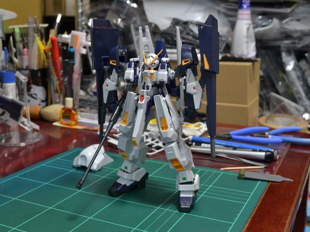 RX-124 ガンダムTR-6〈ギャプランII〉 [Gundam TR-6 (Gaplant II)] 正面