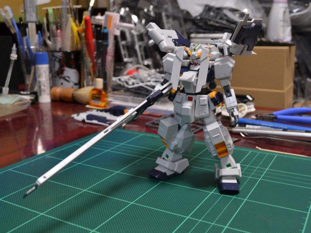 RX-121-1+FF-X29A ガンダムTR-1〈ヘイズル・ラー〉 [Gundam TR-1 (Hazel-Rah)] 正面