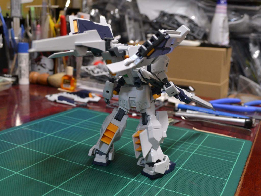 RX-121-1+FF-X29A ガンダムTR-1〈ヘイズル・ラー〉 [Gundam TR-1 (Hazel-Rah)] 背面