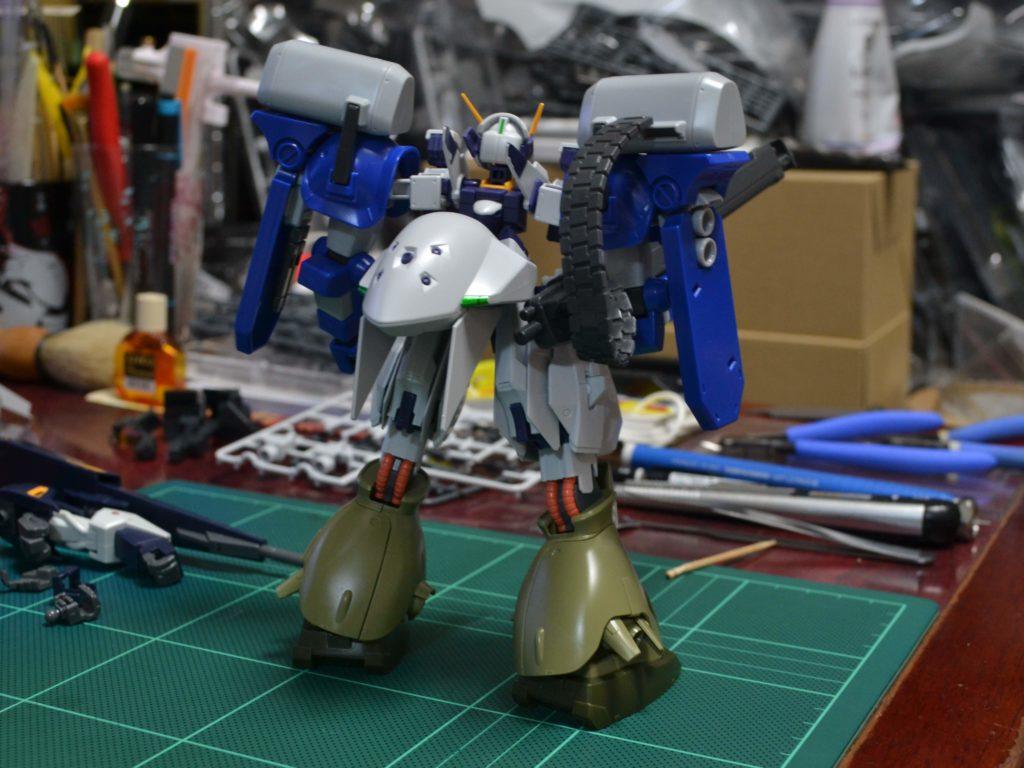 RX-124 ガンダムTR-6〈ハイザックII〉 [Gundam TR-6 (Hi-Zack II)] 背面