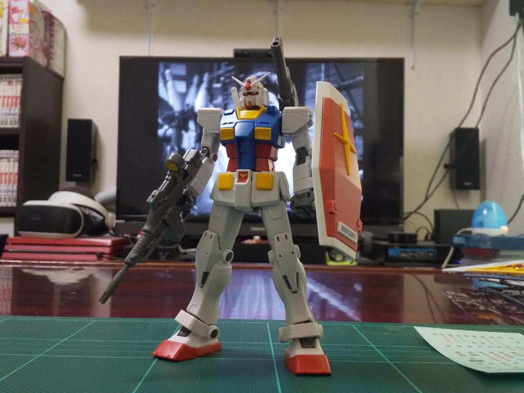 HG 1/144 RX-78-02 ガンダム(GUNDAM THE ORIGIN版) 正面