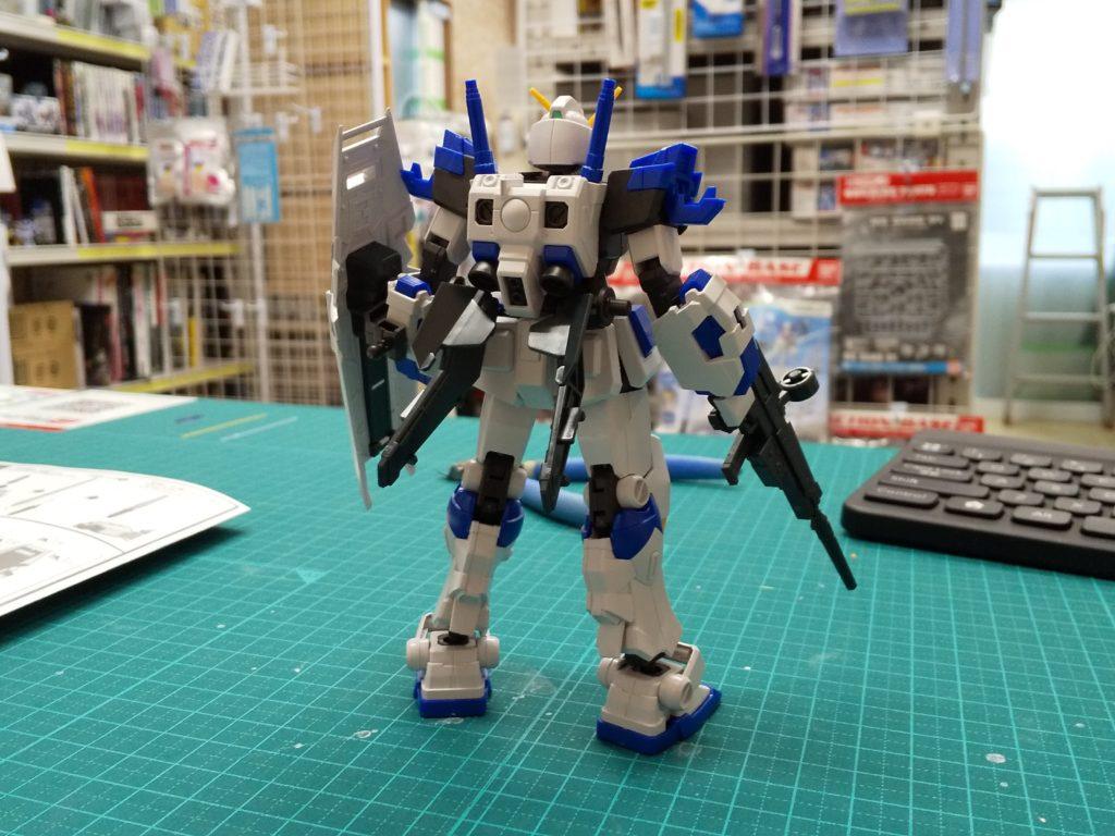 """RX-78-4 ガンダム4号機 [Gundam Unit 4 """"G04""""] 背面"""
