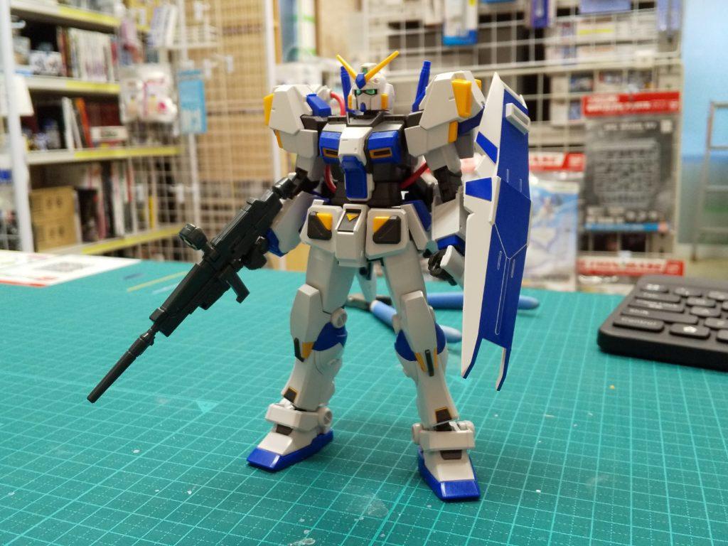 """RX-78-4[Bst] ガンダム4号機[Bst] [Gundam Unit 4 """"G04"""" [Bst]] 正面"""