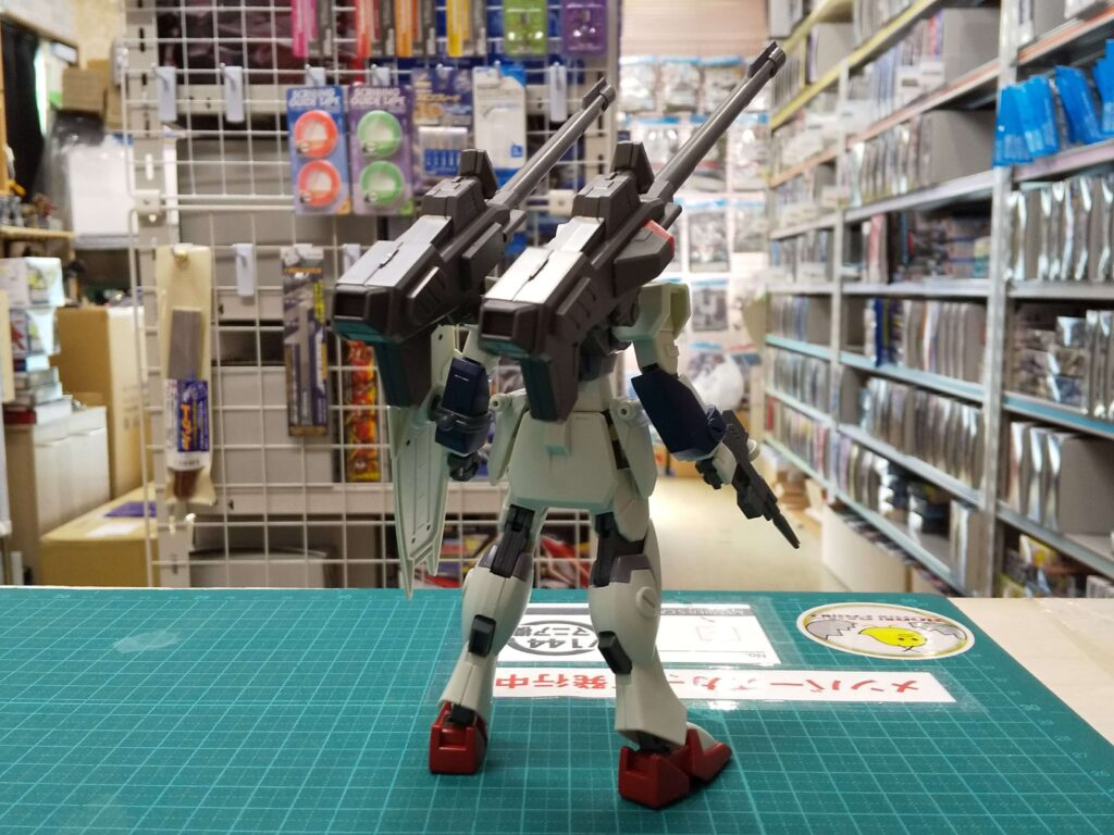 HGCE 1/144 ウィンダム&ダガーL用 拡張セット 背面