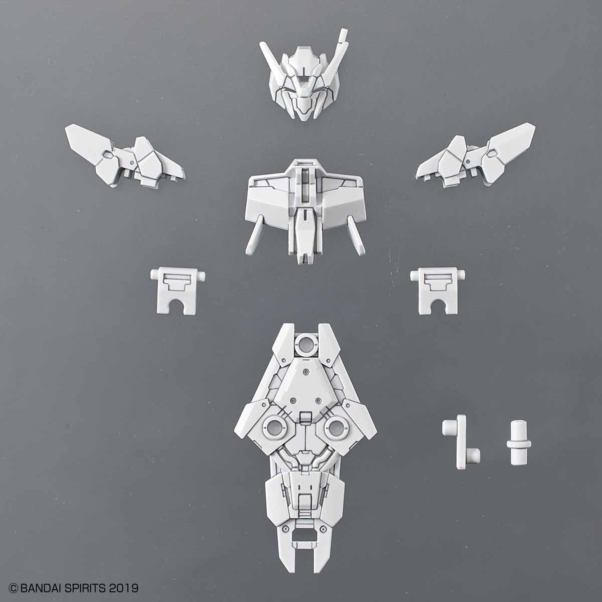 30 Minutes Missions(30MM) 30 Minutes Missions(30MM) 1/144 指揮官機用オプションアーマー[アルト用/ホワイト] 4573102580993 5058099