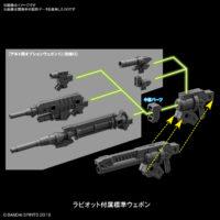 30MM 1/144 eEXM-21 ラビオット [ネイビー] 試作画像4