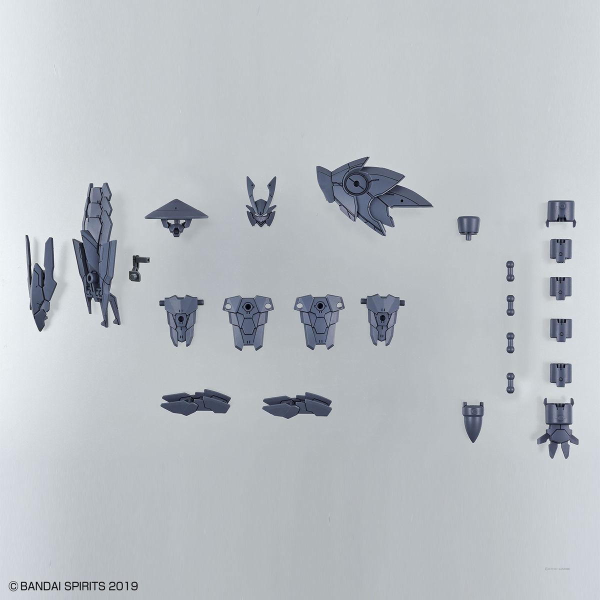 30MM 1/144 オプションパーツセット4(戦国アーマー) 5061552 4573102615527