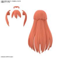 30MS オプションヘアスタイルパーツVol.3 全4種 ロングヘア2[レッド2]