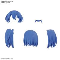 30MS オプションヘアスタイルパーツVol.2 全4種 ミディアムヘア2[パープル1]