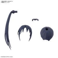 30MS オプションヘアスタイルパーツVol.2 全4種 ポニーテールヘア1[ネイビー1]