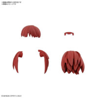 30MS オプションヘアスタイルパーツVol.1 全4種 ショートヘア1[レッド1]