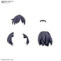 30MS オプションヘアスタイルパーツVol.1 全4種 ショートヘア2[ネイビー1]