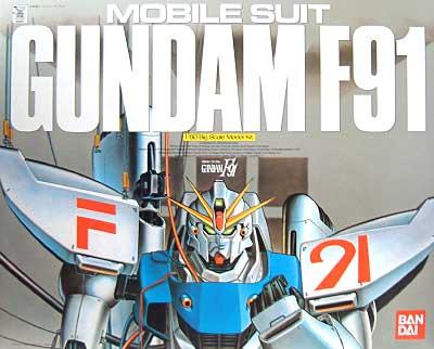 1/60 ガンダムF91 [Gundam F91]