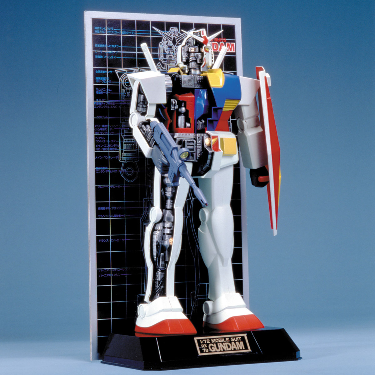868641/72 メカニックモデル RX-78 ガンダム 0008717