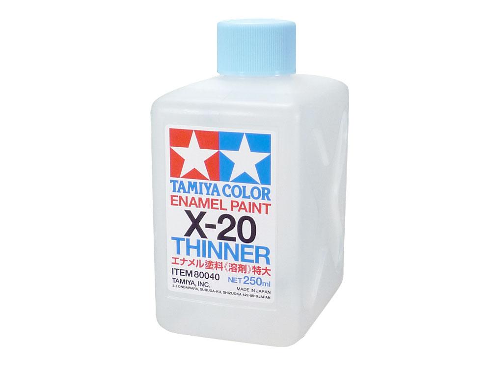 TAMIYA(タミヤ) 80040 エナメル溶剤特大(X-20 250ml)