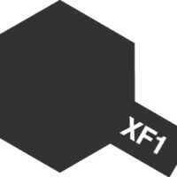 TAMIYA(タミヤ) 80301 エナメル XF-1 フラットブラック 公式画像1