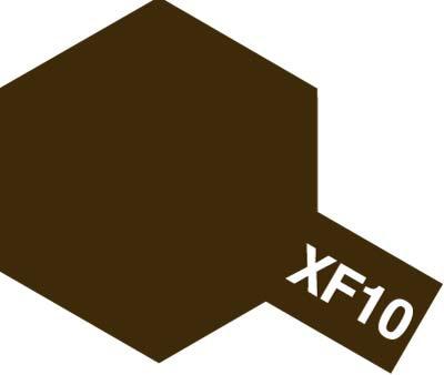 TAMIYA(タミヤ) 80310 エナメル XF-10 フラットブラウン