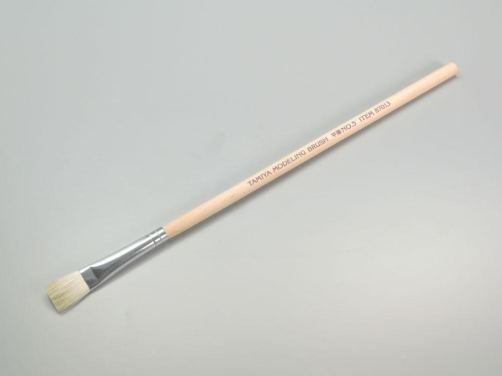TAMIYA(タミヤ) モデリングブラシ No.13 平筆 NO.5
