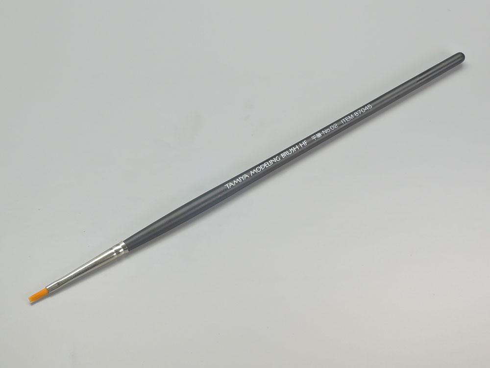 TAMIYA(タミヤ) モデリングブラシ No.45 モデリングブラシHF 平筆NO.02