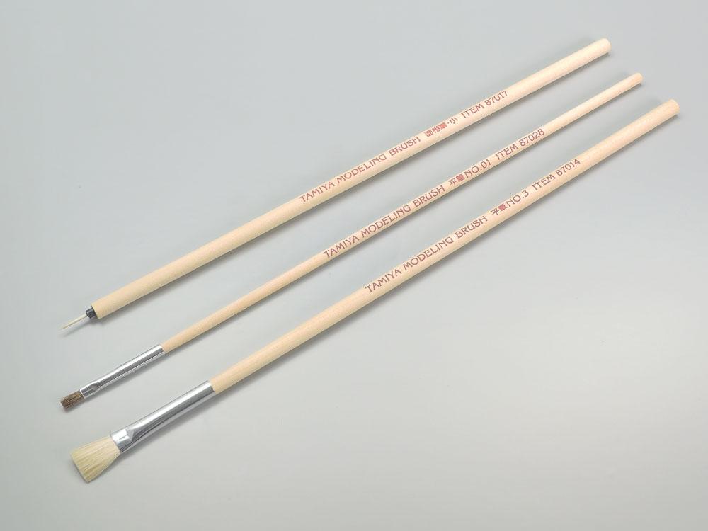 TAMIYA(タミヤ) モデリングブラシ No.66 タミヤ モデリングブラシベーシックセット