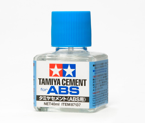 TAMIYA(タミヤ)No.137 タミヤセメント(ABS用)