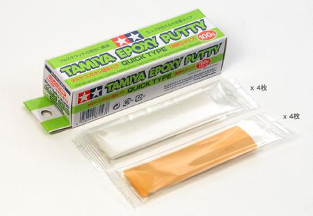 TAMIYA(タミヤ)No.143 エポキシ造形パテ(速硬化タイプ) 100g