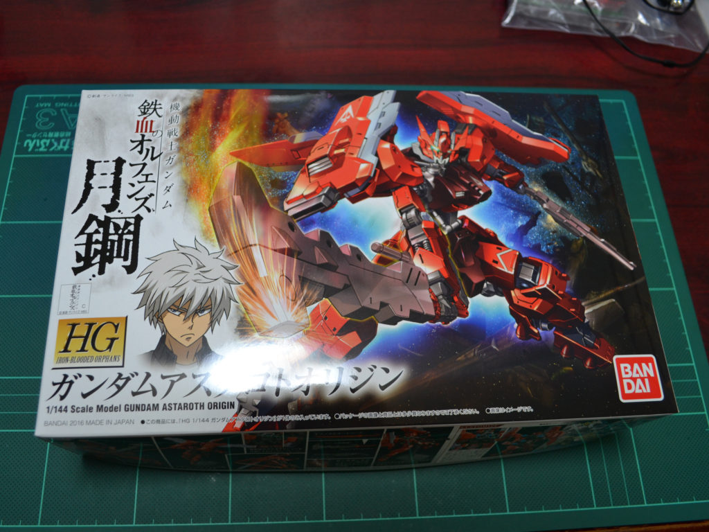HG 1/144 ASW-G-29 ガンダムアスタロトオリジン [Gundam Astaroth Origin] パッケージ